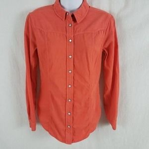 Holding horses Coral corduroy top